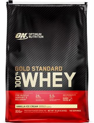 OPTIMUM NUTRITION 100% WHEY GOLD STANDARD (10LB)
