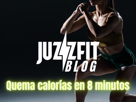 Quema calorías en 8 minutos de entrenamiento