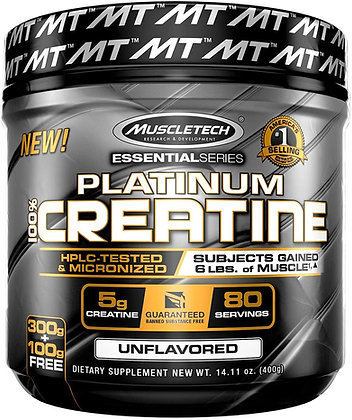 MUSCLETECH PLATINUM 100% CREATINE (400g)