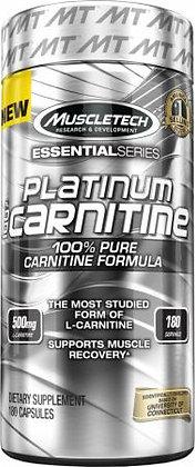 MUSCLETECH PLATINUM 100% CARNITINE (180caps)