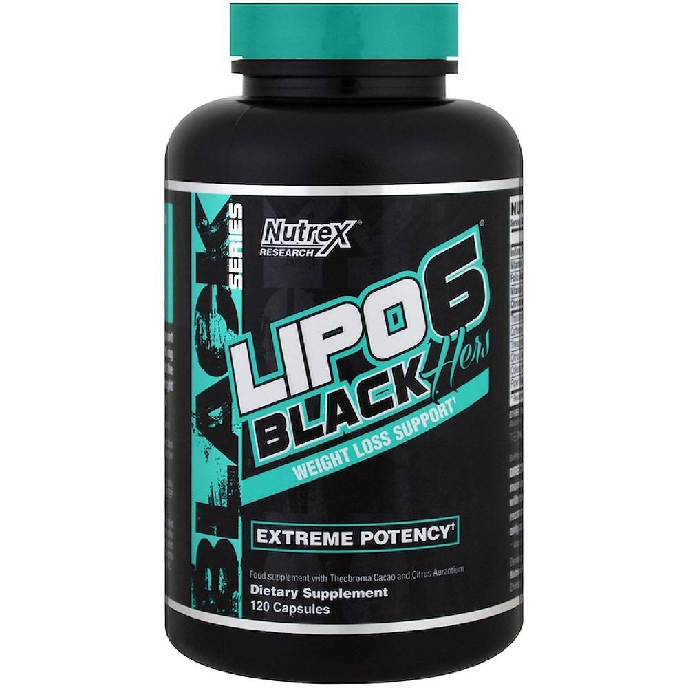 Quemador termogénico para mujer LIPO 6 BLACK HERS