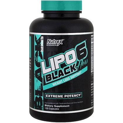 NUTREX LIPO 6 BLACK HERS (120caps)