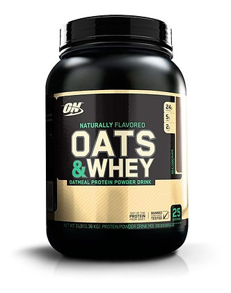 OPTIMUM NUTRITION NATURAL OATS & WHEY (3LB)
