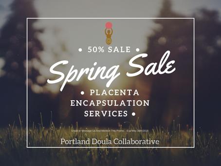 Annual Spring Sale!!!