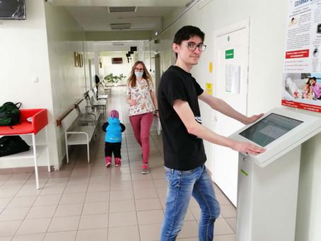 В детской поликлинике введены электронные талоны на забор крови из вены