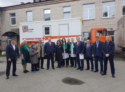 На востоке Свердловской области запущен новый компьютерный томограф и прошла акция #ДоброВГород