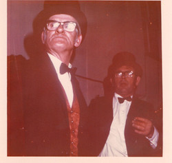 Des Jago and Tom Green Jr in 1974
