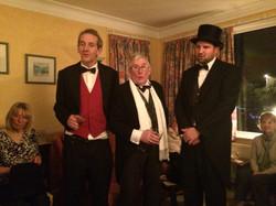 Joe, Pete and Dan at Diane Hicks'