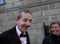 Joe Green and Elke Cann