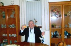 At Rob Vigus's, 2007