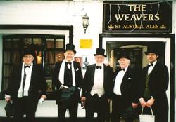 Outside the Weavers
