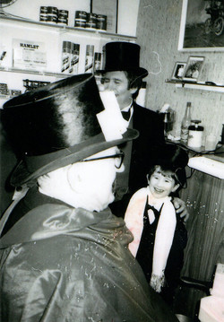 Terry's barber shop, 1986