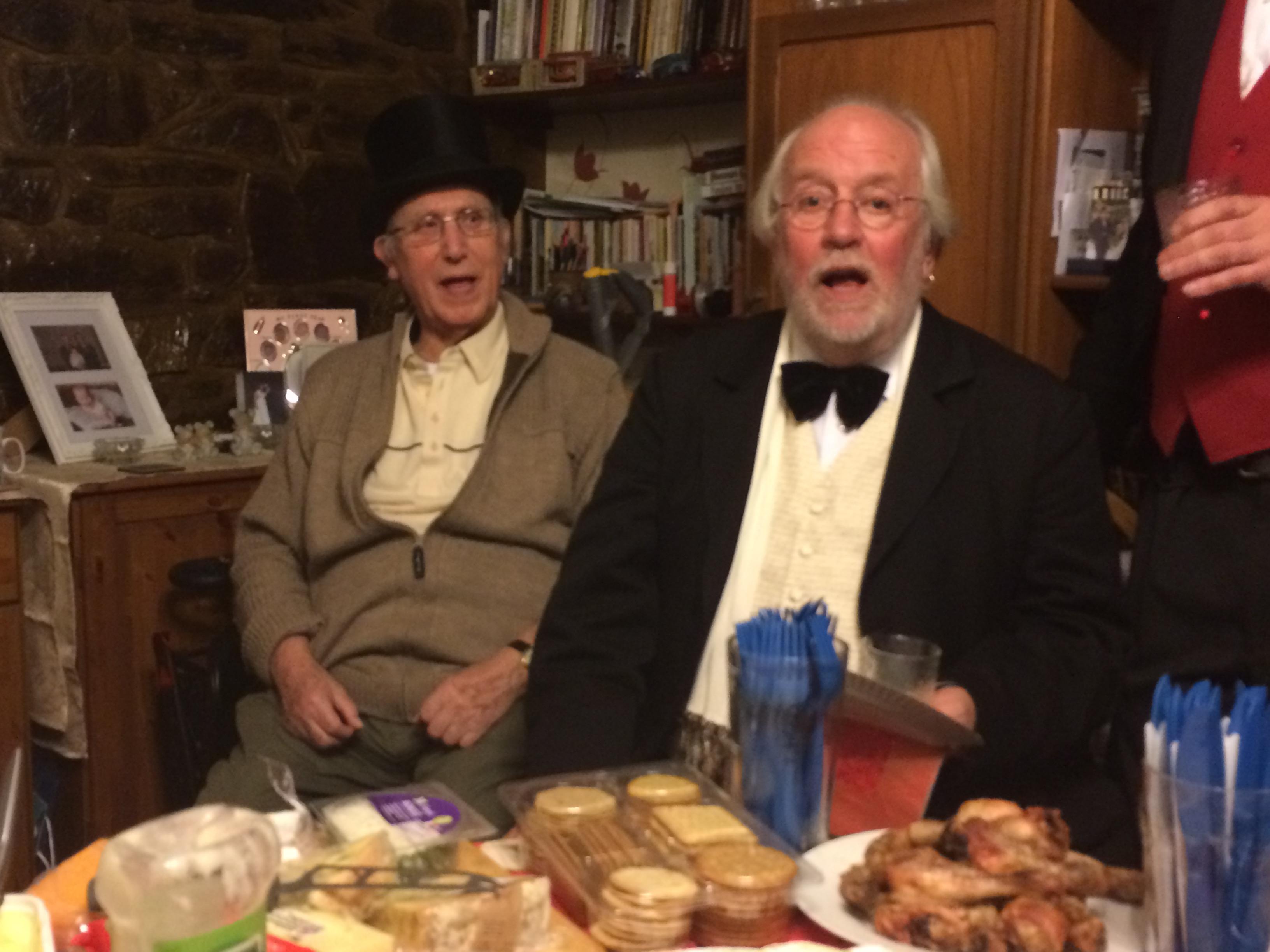 Dennis Cooper and Eddie
