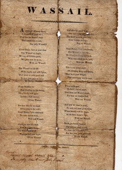 Document of the old song