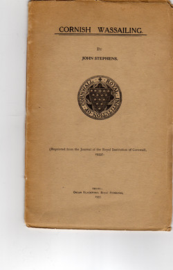 Old book about the custom
