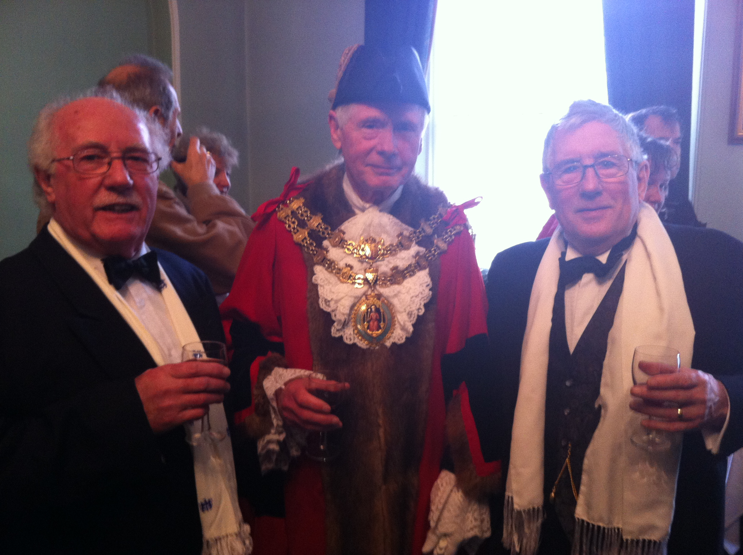 Vic, Mayor of Bodmin, Pete