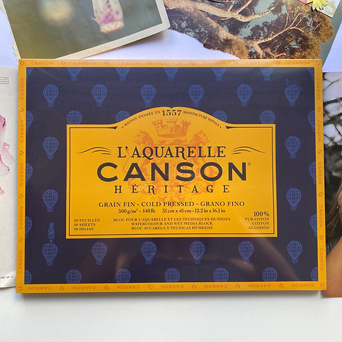Block Canson Heritage 31x41