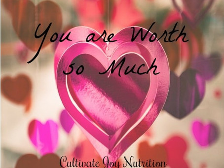 You are Worth so Much