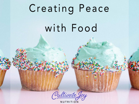Creating Peace with Food