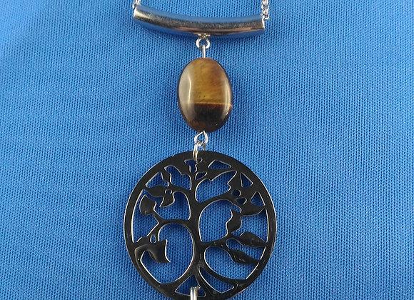 collier long arbre de vie