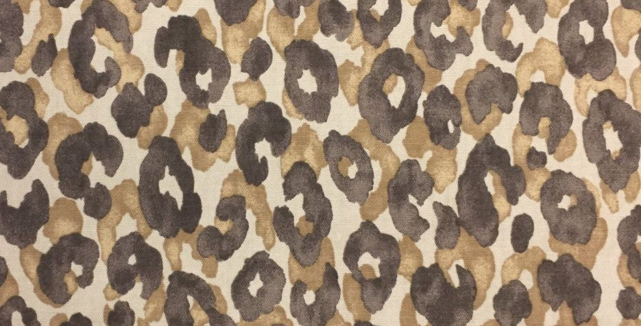 Light Brown Leopard Print