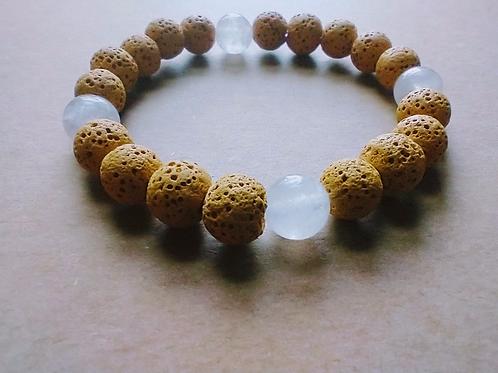 Honey Lava Quartz Bracelet