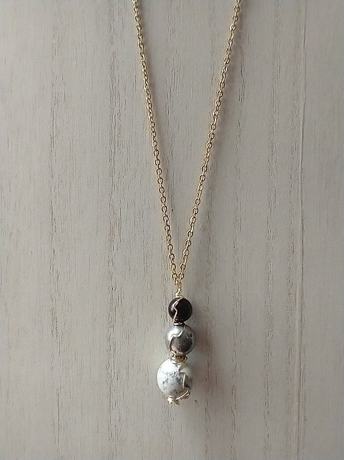 Stone Bound Necklace I