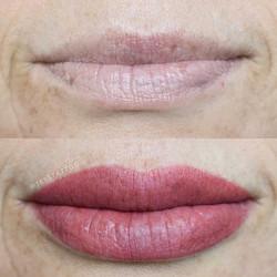 Lip blush done at _studioartisphere 🎨 _