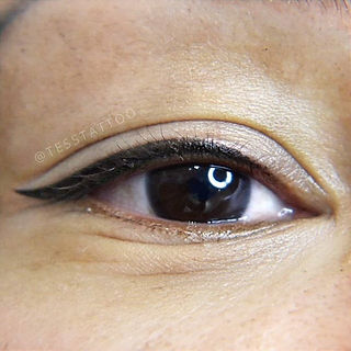 Permanent eyeliner is great for ladies w