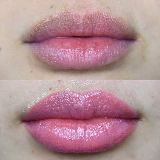 Did my own boss lady's lips!_T'was an ho