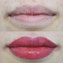 Lip Blush tattoos last longer than tempo