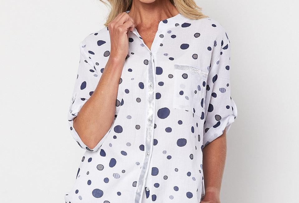 Threadz T Spot Print Shirt