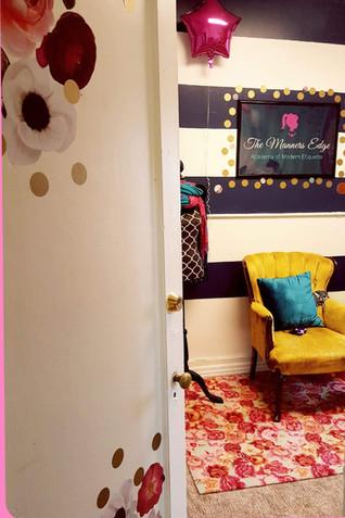 Enter our cozy environment!