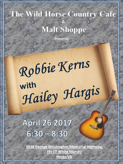 Robbie Kerns April 26