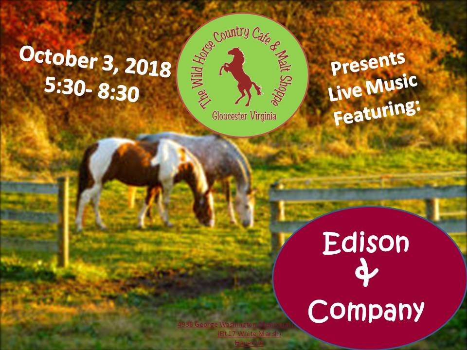 Oct 3 Edison and Company