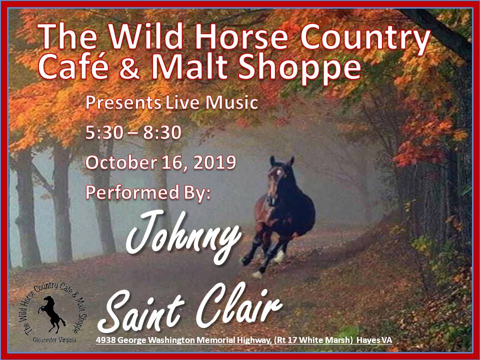 Johnny St Clair  Oct 16 2019