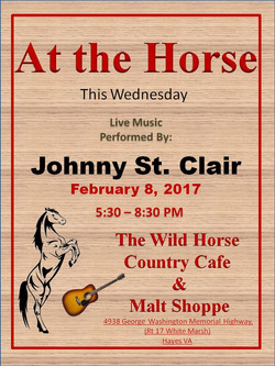 Johnny St Clair Feb 8