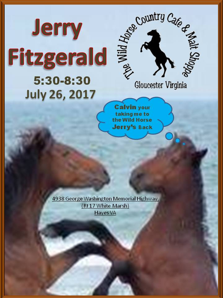 Jerry Fitzgerald July 26