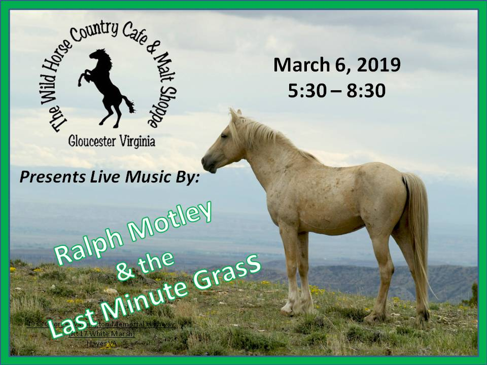 Ralph M March 6 2019