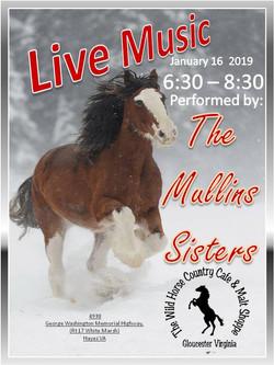 The Mullins Sisters JAN 16