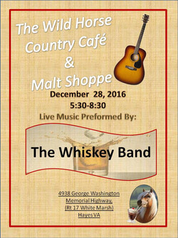 The Wiskey Band dec 28
