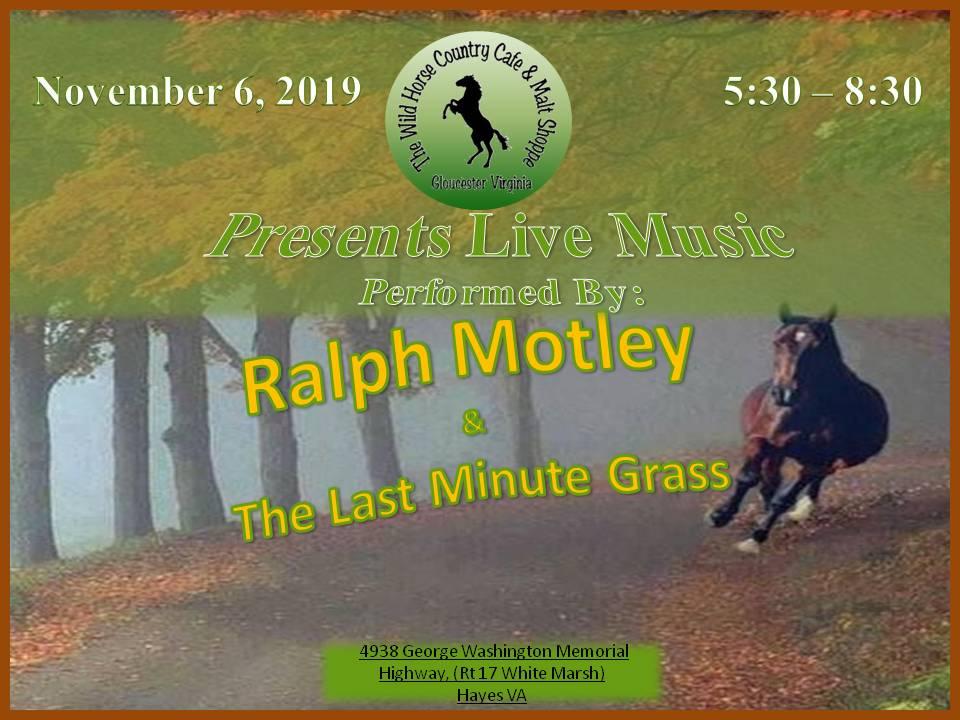 Ralph M Nov 6  2019