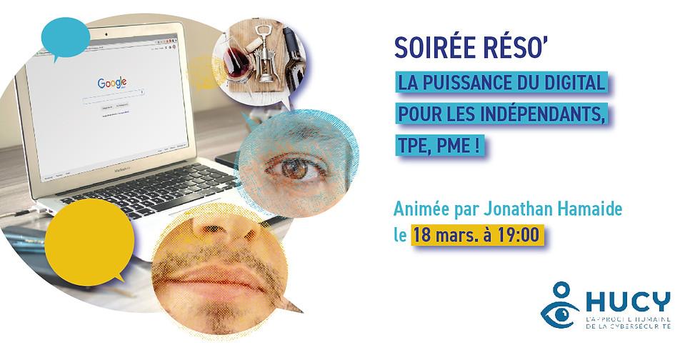 SOIRÉE RÉSO'