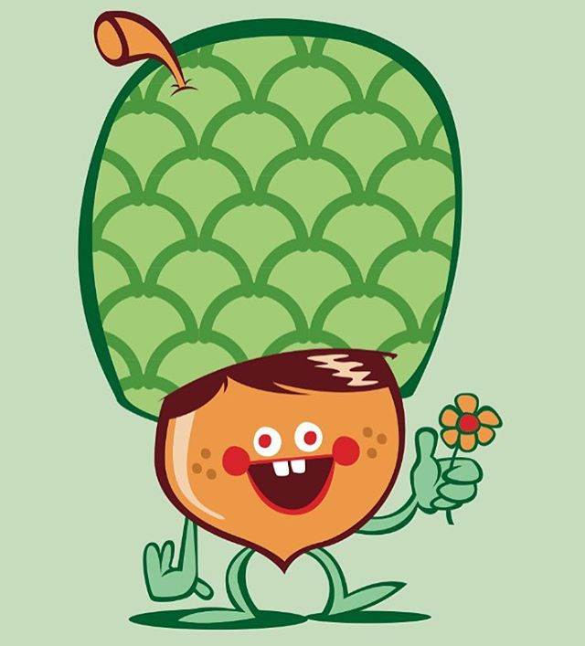 #illustration #drawing #art #acorn #flower #green #happy #retarded