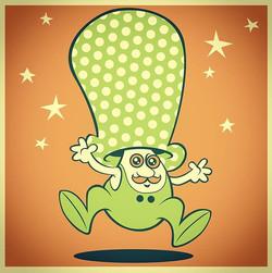 #risograph #illustration #drawing #mushroom #happy