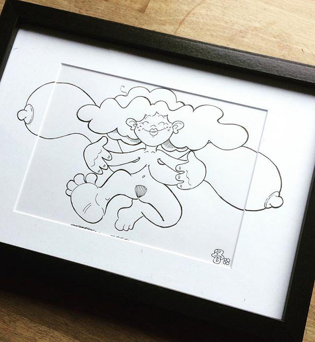 #drawing #art #happy #gift #illustration #huge