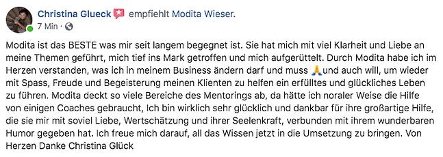 Testimonial_FB_Bewertung_Christina_Glü