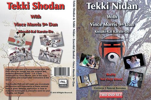 USB/DVD - Tekki Shodan + Tekki Nidan