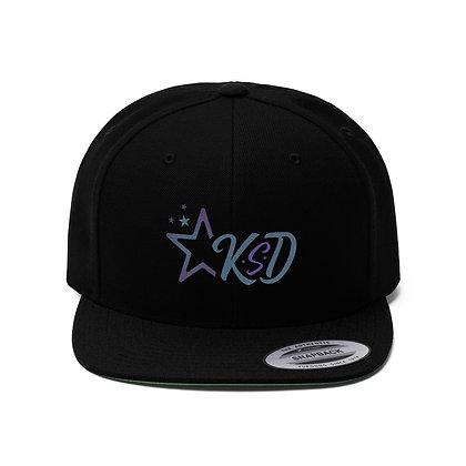 KSD Unisex Flat Bill Hat