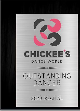 CDW Dancer Award (9x12)